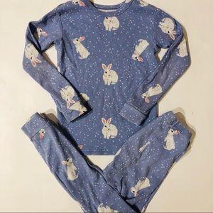 Babygap 5 bunny pajama set